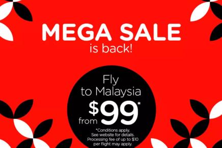 MEGASALE: A AirAsia.com está com uma promoção imperdível de passagens para países da Ásia, a partir de A$99