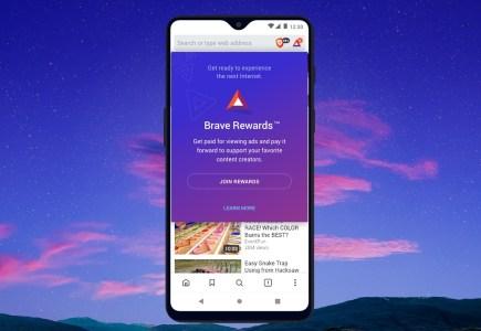 A Brave Android app fizet a reklámnézésért