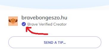 brave verified creator tartalomgyártó bat bravebongeszo