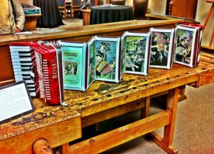 "The University of North Texas Libraries specially commissioned ""Brave Combo Accordion Book"" from artists Peter and Donna Thomas for their Special Collections."