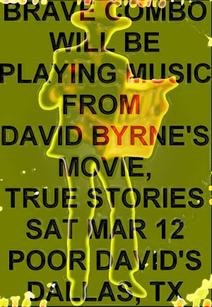 Poor David's March 12 2016 True Stories Tribute