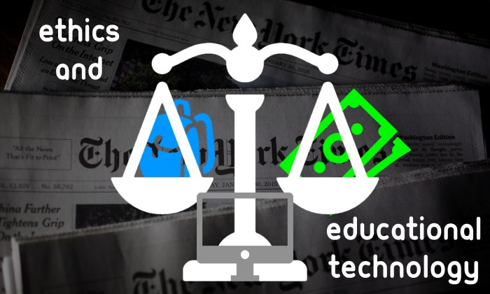 ethics and edtech