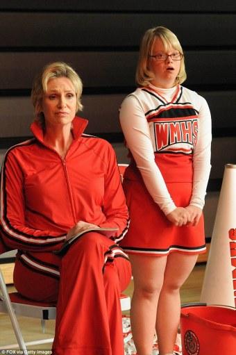 Lauren Potter in Glee