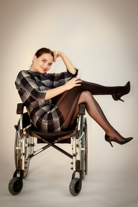 inappropriate disability stock photo