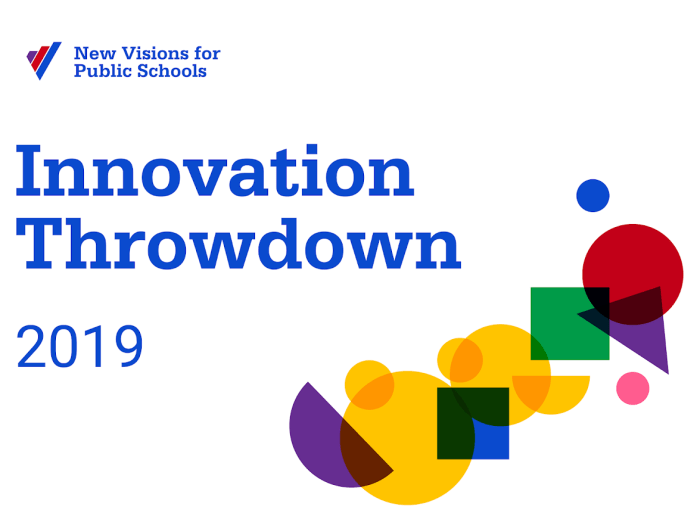 New Visions Innovation Throwdown 2019