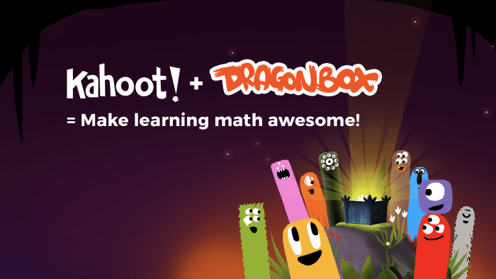 (text) kahoot + dragonbox = make learning math awesome with dragonbox creatures