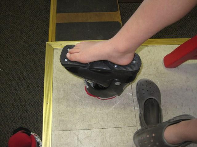 fitting ski boots