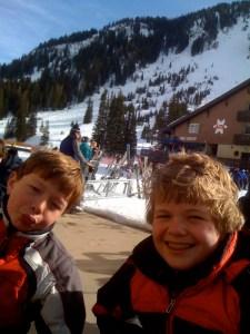 alta family skiing