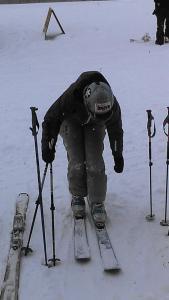 brave ski mom sticker winter park