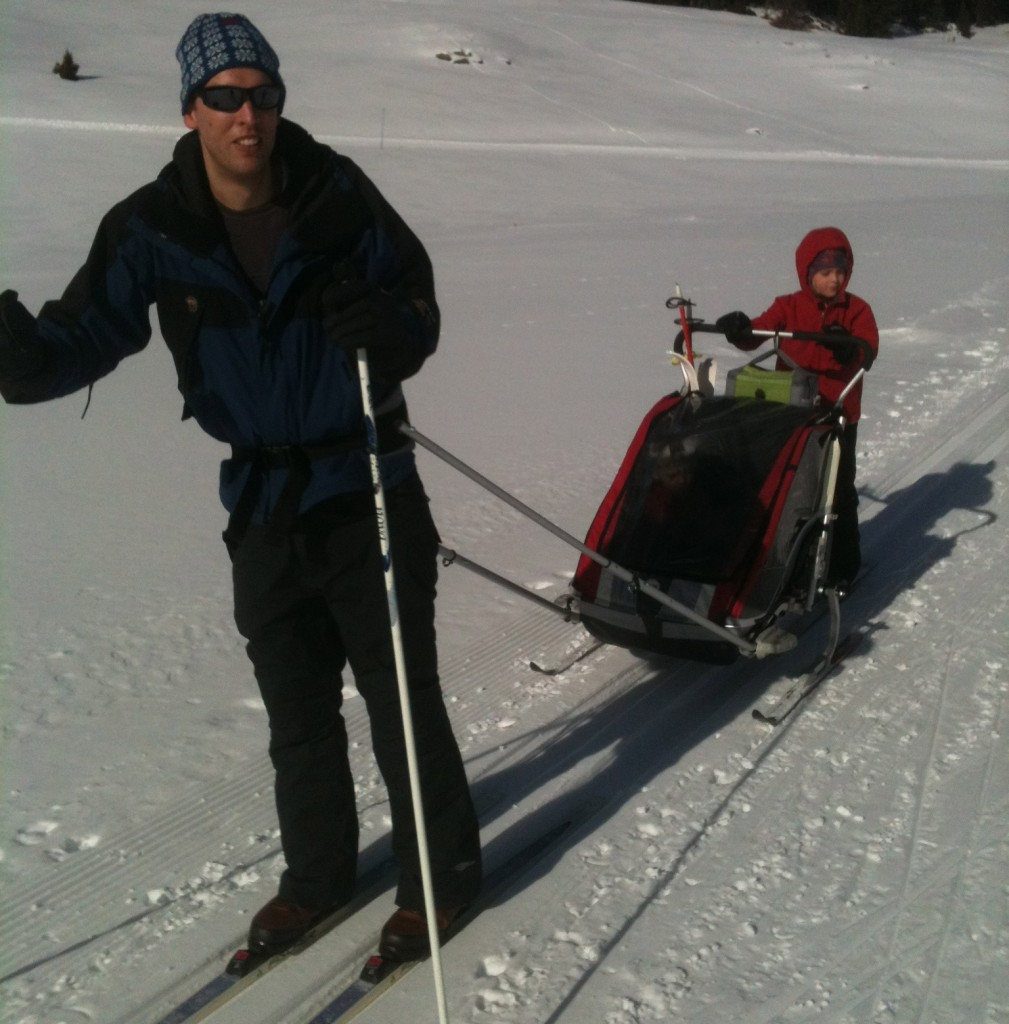 How To Ski with Babies and Toddlers