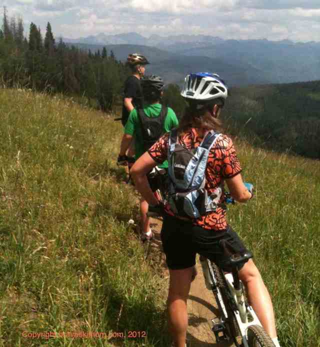 colorado mountain bike family beaver creek