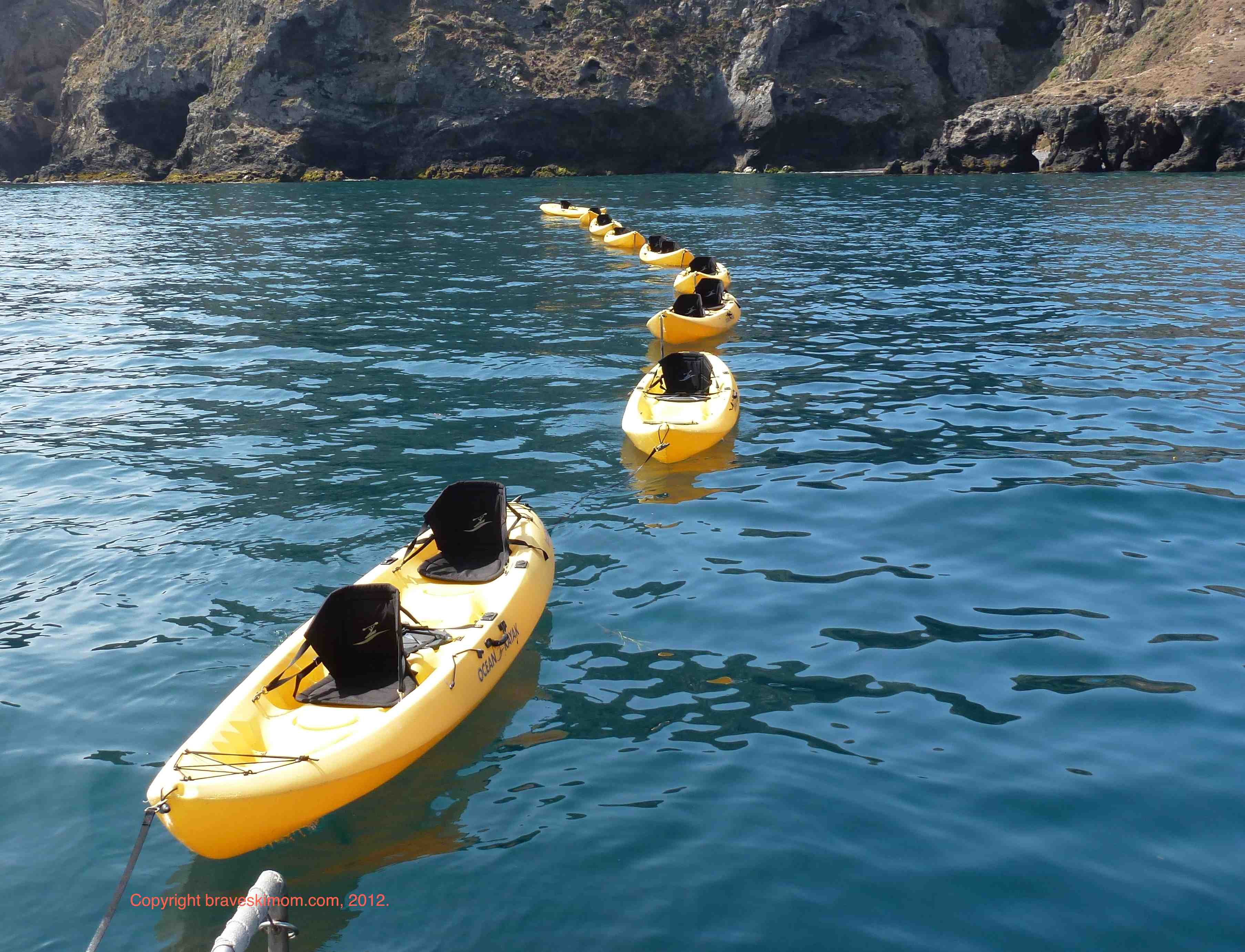 california dreamin part one kayaking channel islands national park