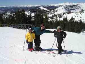 family ski monarch mountain