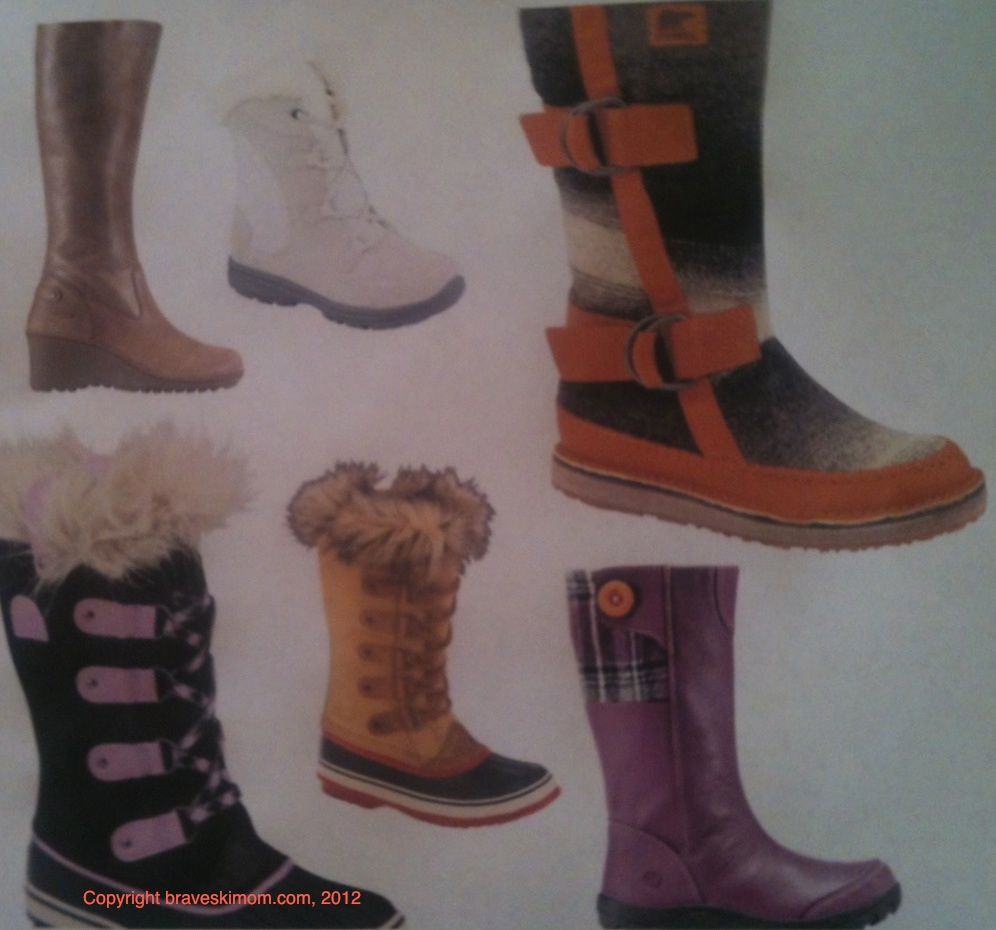 Ski Fashion 2012 2013 Stylish Winter Boots For Women And