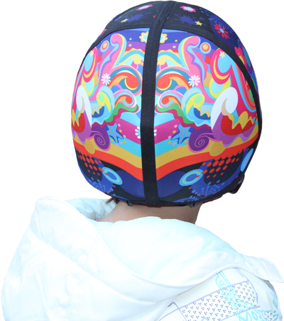 Skbella helmet cover color burst