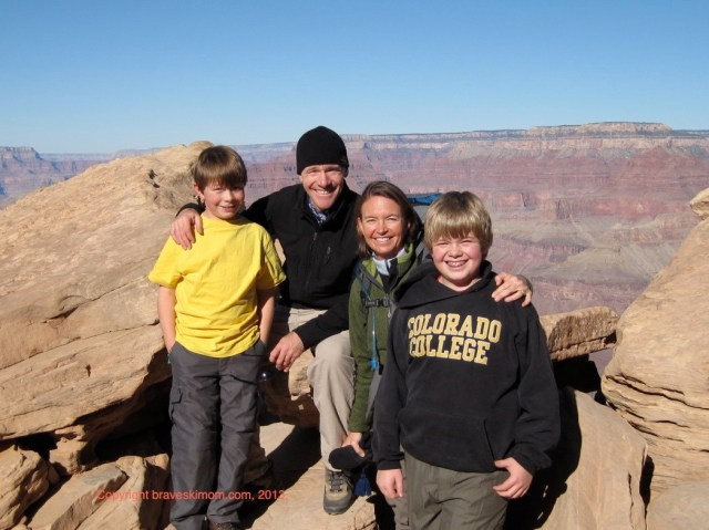 family adventure grand canyon national park