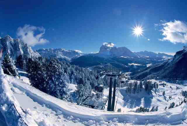 ski val gardena italy dolomites