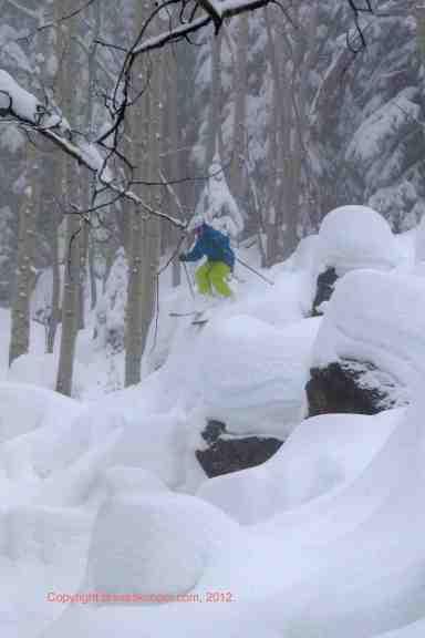 deep powder powderhorn mountain resort colorado
