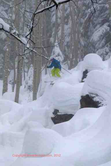 deep powder powderhorn mountain resort colorado