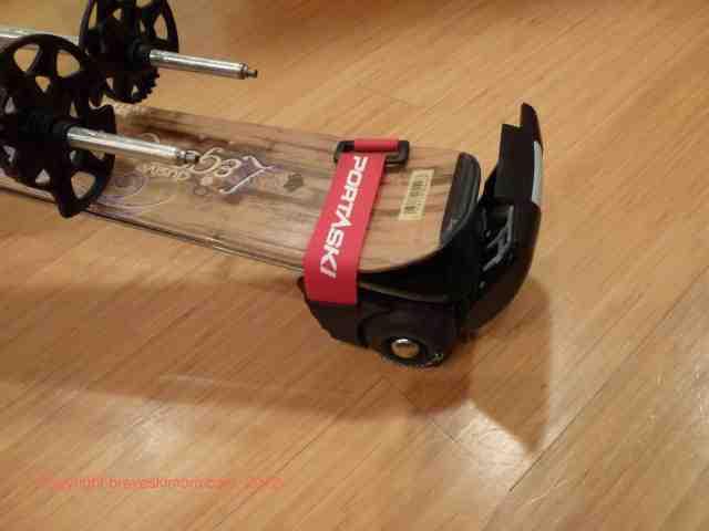 portaski ski rollers trolley