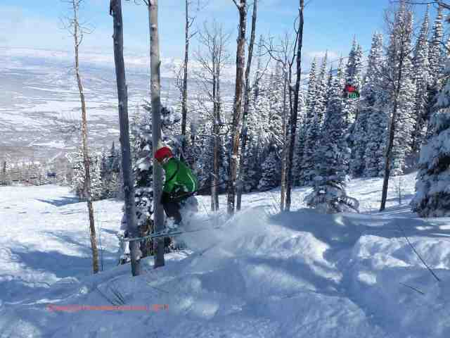 powderhorn mountain resort jump