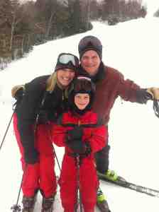 Family Skiing at Mad River Glen, Vermont