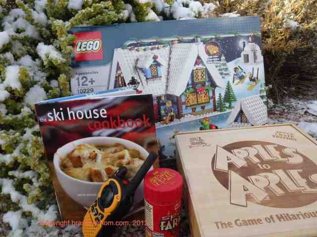 gifts for skiing families