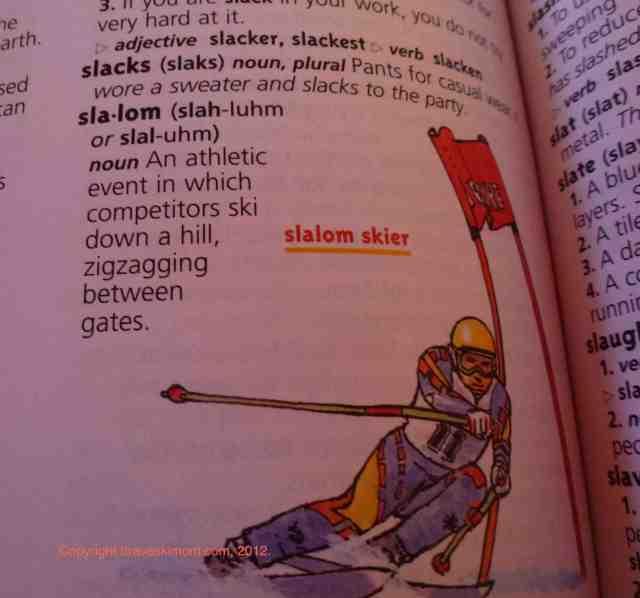 slalom definition