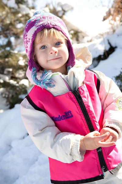 kinderlift vest in hot pink