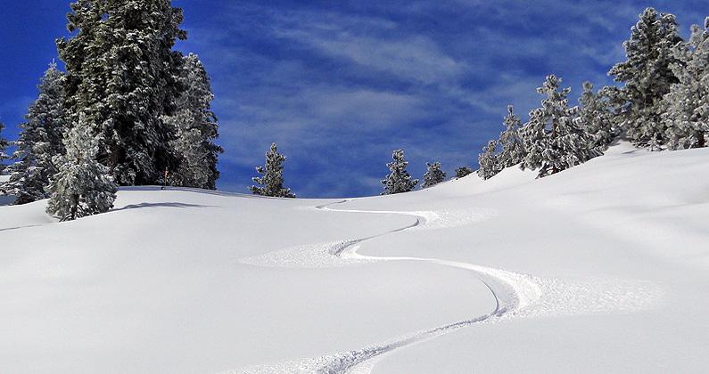 snow valley powder california