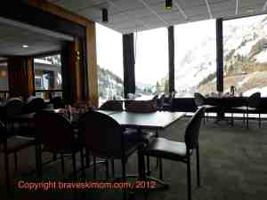 alta lodge dining room