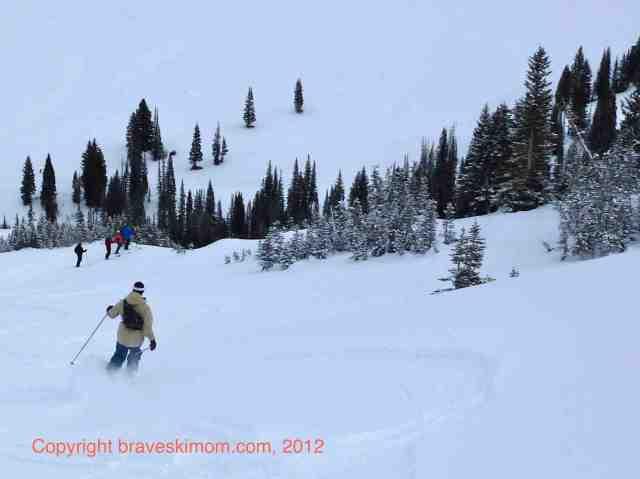 matt gibson skiing alta
