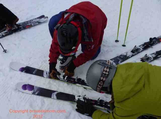 salomon rockette 90 skis