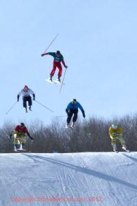 skier cross winter x games buttermilk aspen colorado
