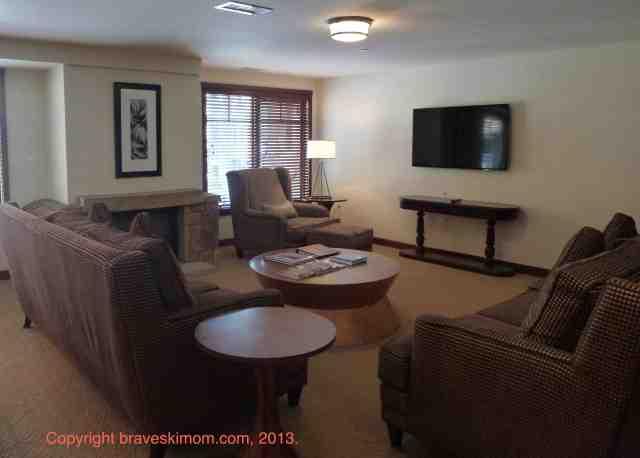 hotel madeline condo living room