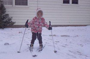 1970s ski day