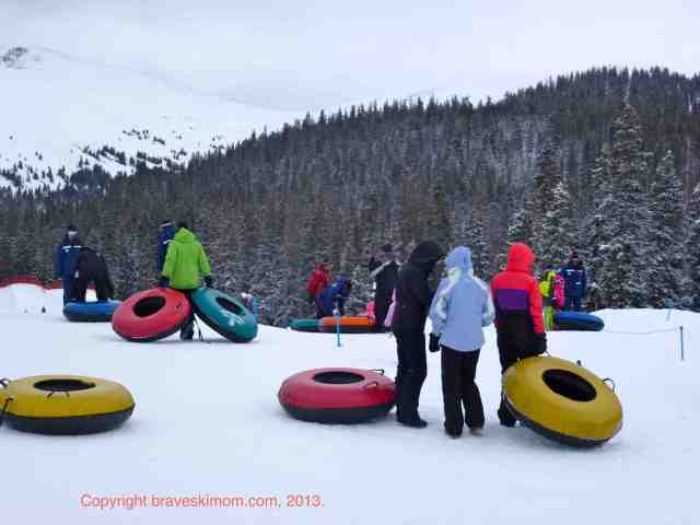 tubing at keystone's adventure point