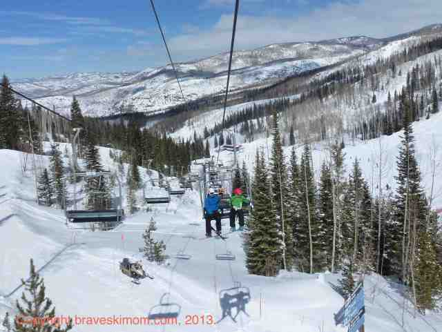 steamboat chairlift