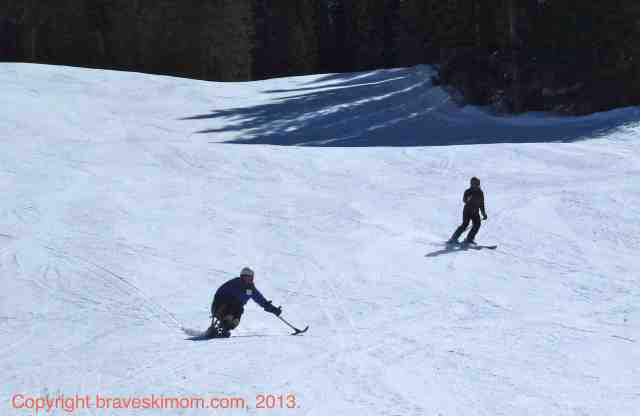 adaptive skiing purgatory
