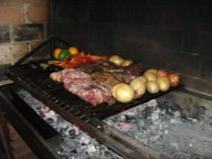 ski day meal argentina