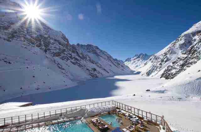 ski and swim portillo chile