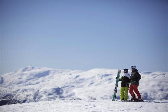 voss skiing