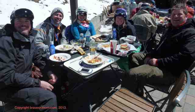 lunch at the Mill Mammoth #nasjasnowmedia
