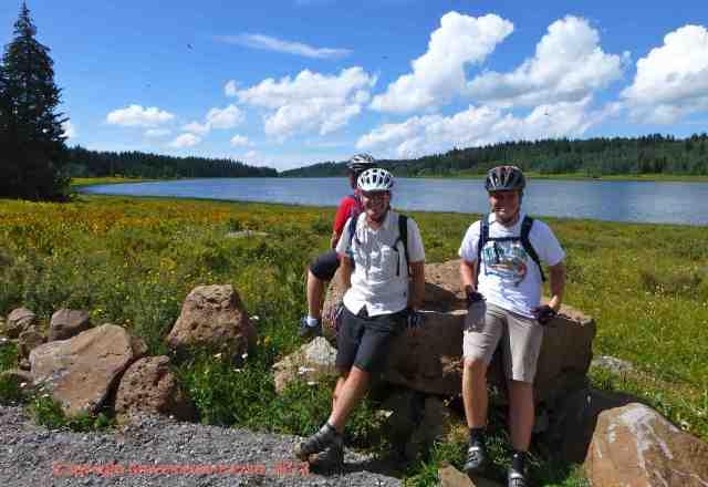 birthday biking grand mesa colorado