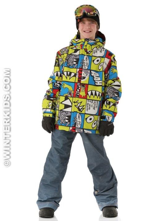 686 boys ski clothes