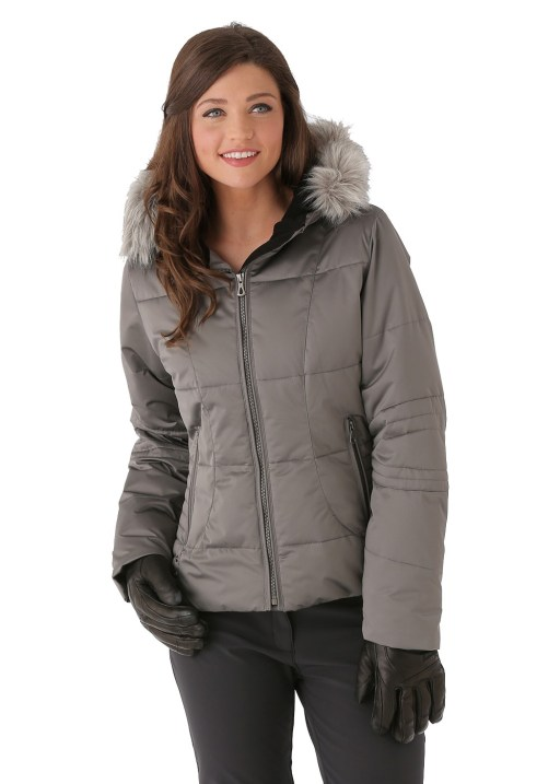 Obermeyer Women's Bombshell Jacket in Titanium