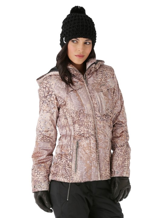 Obermeyer Women's Leighton Jacket in Clemente Print