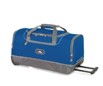 high sierra wheeled cargo duffel ski boot bag