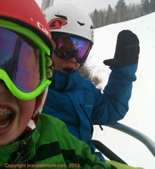 chairlift chatting