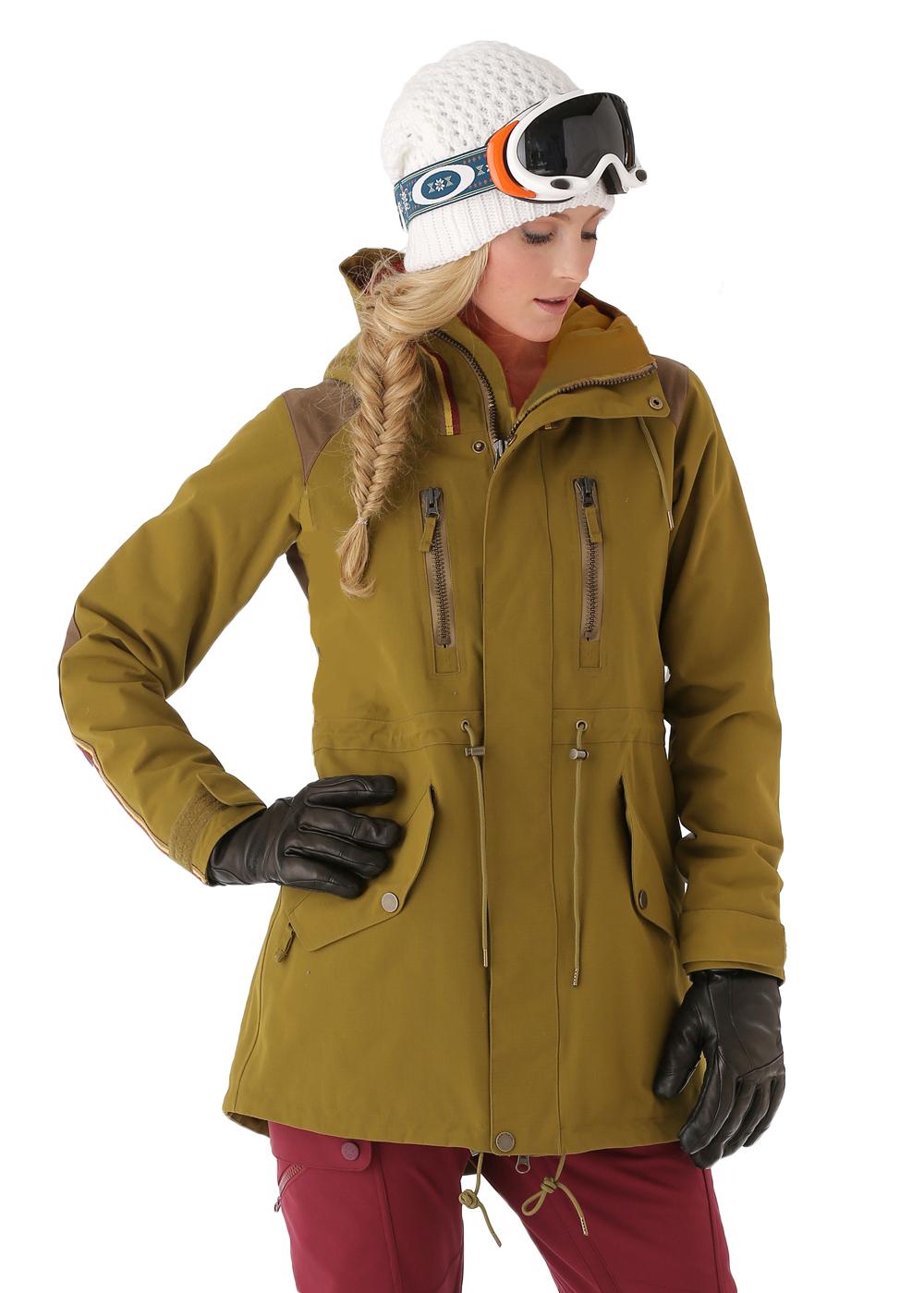 Burton ski jackets for women